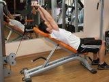Triceps deitado c/ polia
