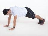 Flexão de braço fechada (Tríceps)