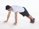Flexão de braço c/ pliometria