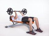 Tríceps supinado c/ barra