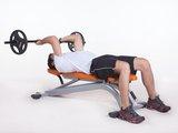 Tríceps Testa com Barra