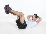 Abdominal supra c/ quadril e joelhos 90°