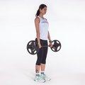 Stiff - Flexão e extensão do tronco c/ pernas estendidas