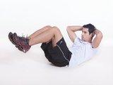 """Abdominal """"Infra"""" - flexão do quadril c/ joelho flexionado"""