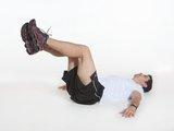 Abdominal no banco - flexão e extensão de quadril e joelho